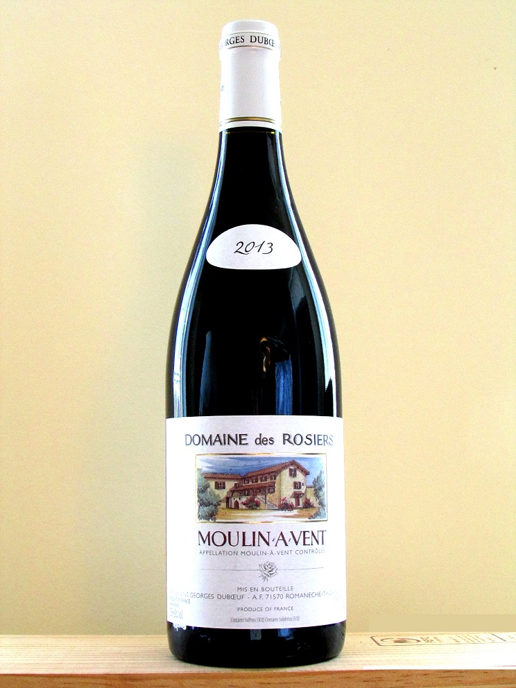 roger domaine rosiers moulin vent2013 bouteille