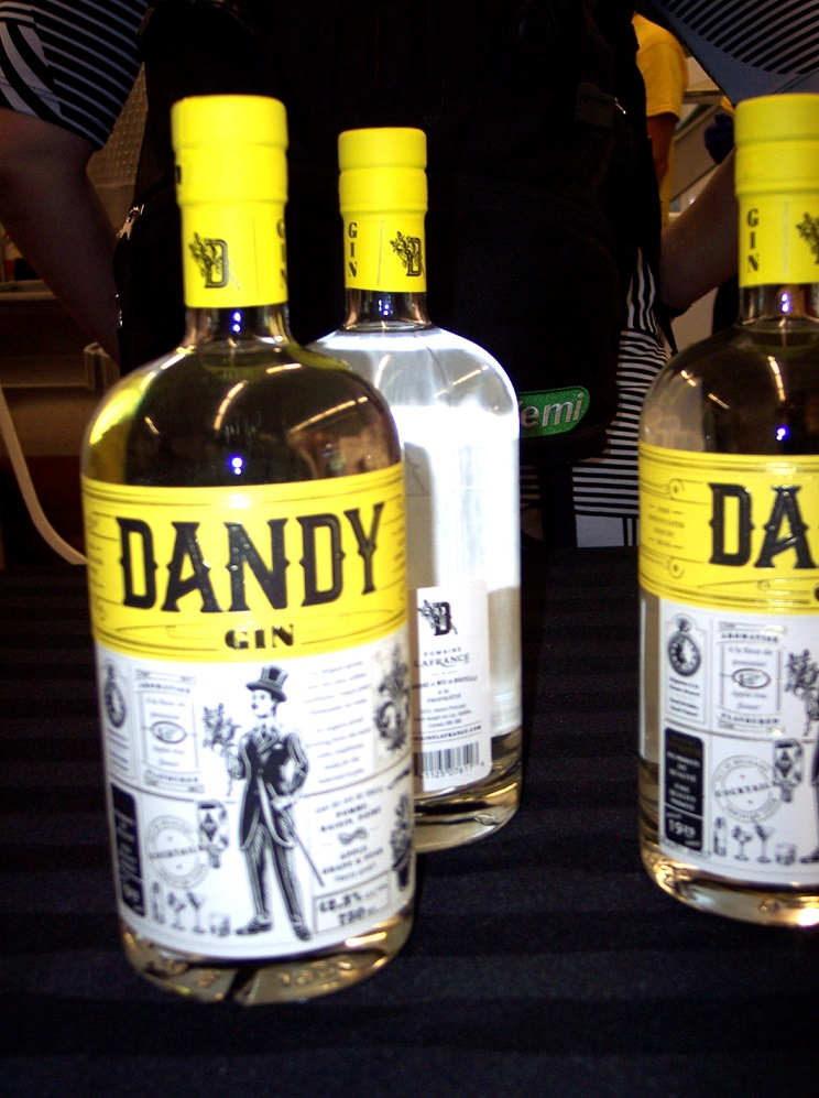 roger gin dandy bouteille