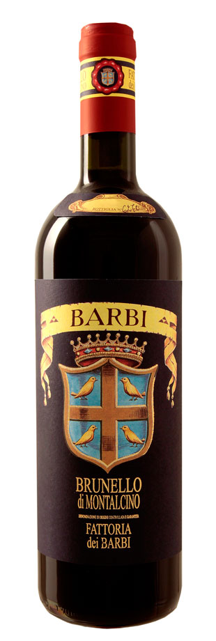 Fattoria dei Barbi Brunello di Montalcino Bottle shot
