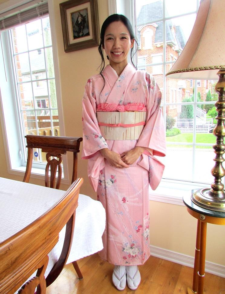 roger kunico san kimono rose