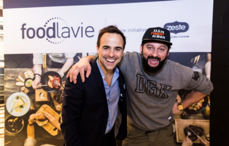 Un survol du lancement de foodlavie en images