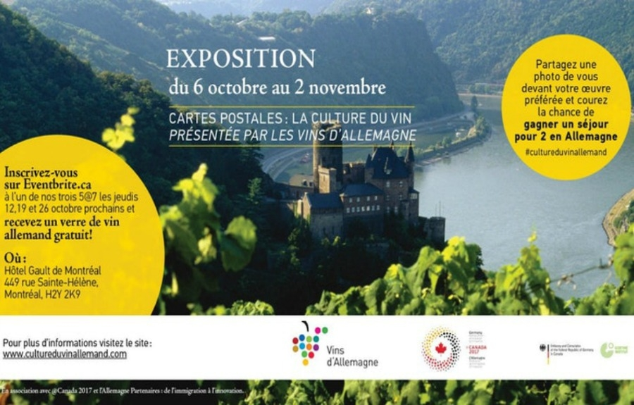 "Découvrez, en primeur internationale, l'exposition photo ""Cartes postales : La culture du vin"""