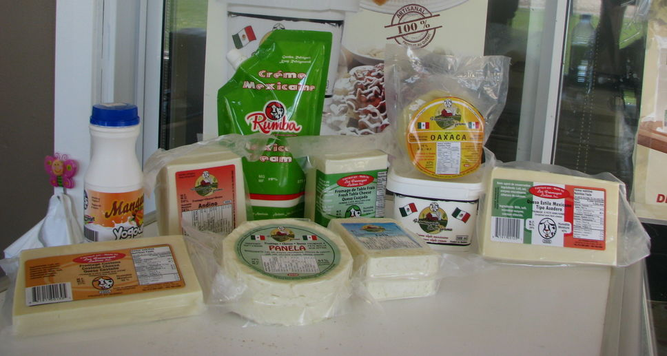 fromages varietes