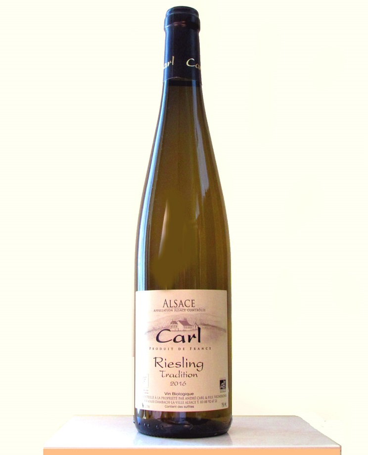 roger alsace carl riesling traditlion2016