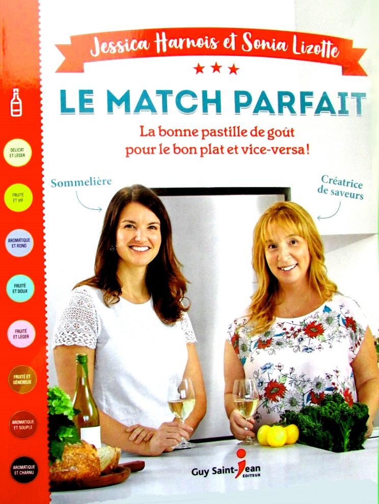 roger livres gourmets match parfait