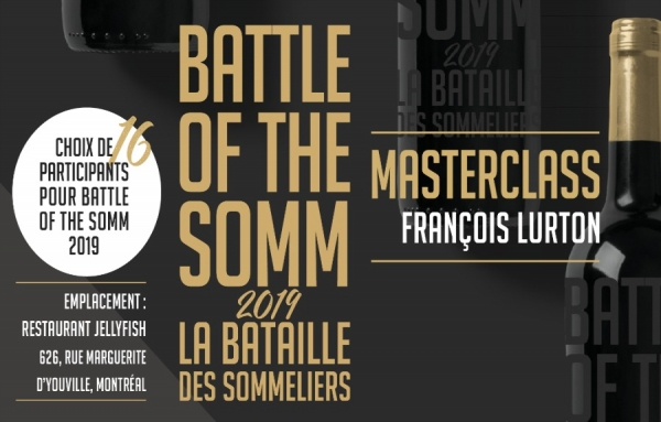 INVITATION SPÉCIALE AUX SOMMELIERS - Battle of the Somm 2019 - La Bataille des sommeliers 2019