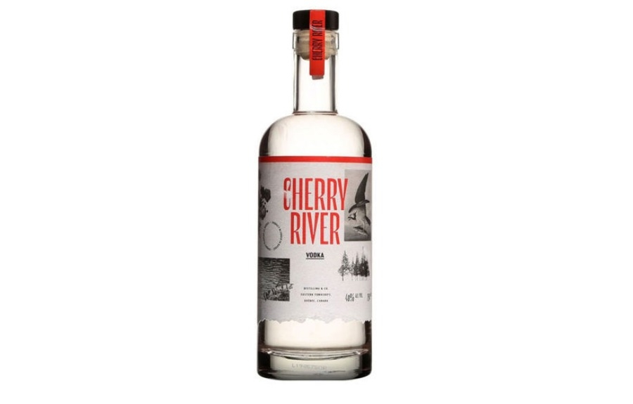 Marc Dupré lance la nouvelle vodka Cherry River