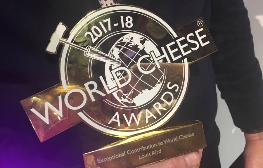 Monsieur Louis Aird honoré aux récents World cheese Awards